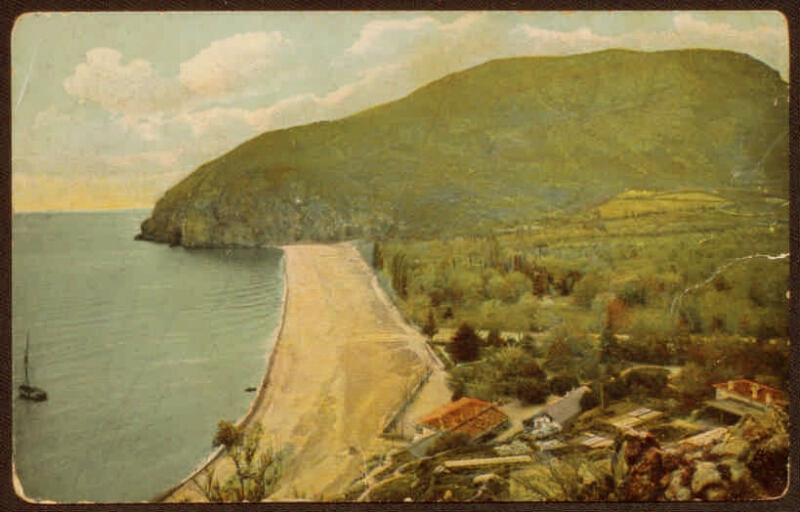Крым в открытках в президентской библиотеке