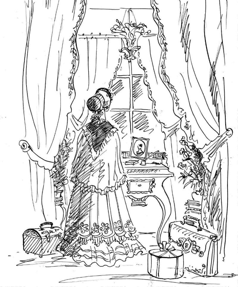 иллюстрации к метели пушкина раскраски счёт